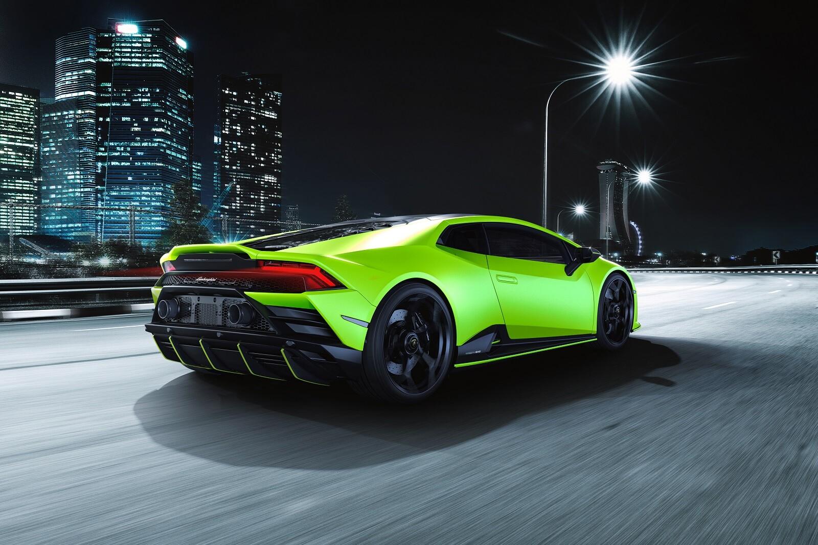 Foto de Lamborghini Huracán EVO Fluo Capsule (15/26)
