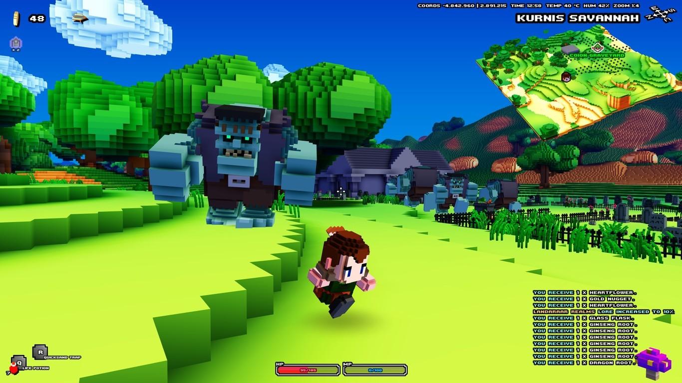 Resultado de imagen para CUBE WORLD GAMEPLAY