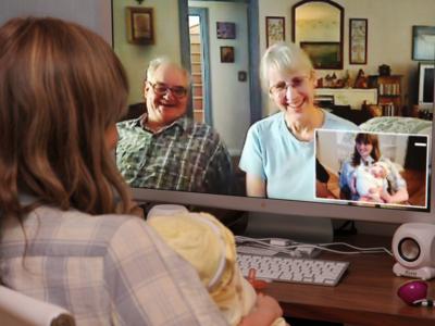 ¿Cuántas personas soportan las aplicaciones de videoconferencia móvil para iOS?