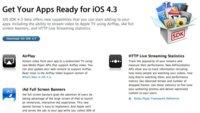 Apple lanza iOS 4.3 beta y los desarrolladores descubren un filón de novedades en su código