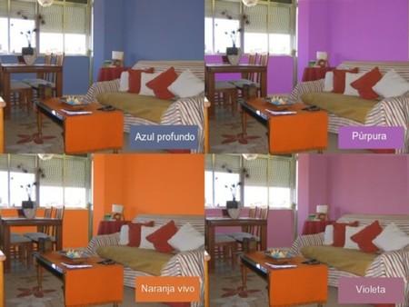 C mo pinto mi sal n decoesfera responde - Como pintar un salon en dos colores ...