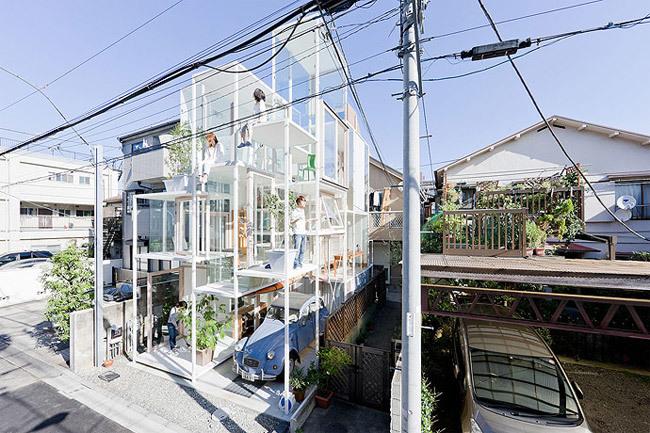 Foto de Casas poco convencionales: una casa completamente transparente (13/14)