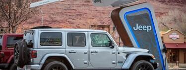 Jeep 4xe, un red de 35 estaciones de carga en las rutas todoterreno más emblemáticas de Norteamérica
