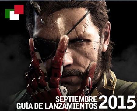 Guía de lanzamientos mensuales en México: septiembre 2015