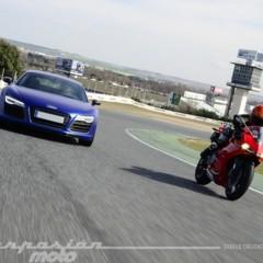 Foto 13 de 24 de la galería ducati-899-panigale-vs-audi-r8-v10-plus en Motorpasion Moto