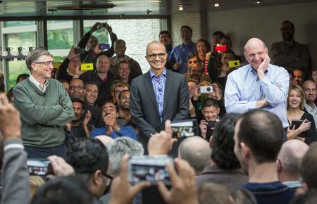 Satya Bill Gates Y Steve Ballmer