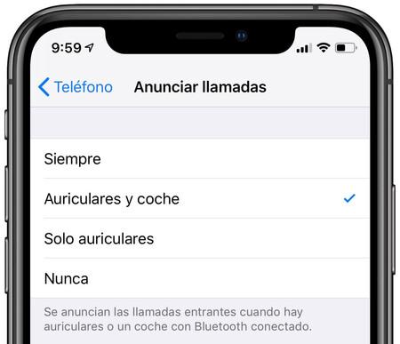 Siri Anuncio Llamadas