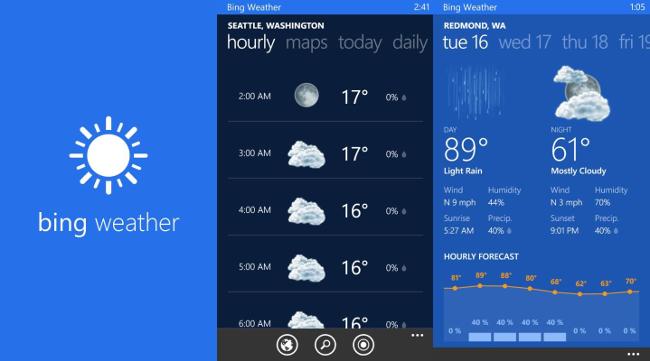 Bing Weather