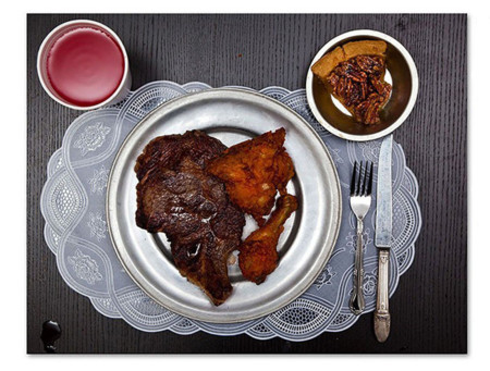 Fotógrafo recrea la última comida de condenados a muerte en los Estados Unidos
