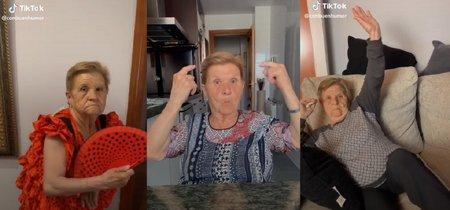 Paca tiene 80 años y es una estrella en TikTok: la plataforma ha dejado de ser el reino adolescente