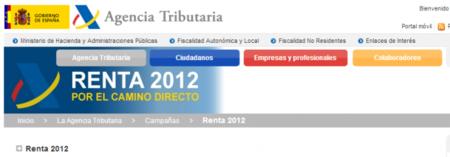 Renta 2012: ¿cómo solicitar el borrador?