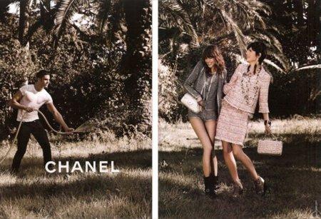 Chanel Primavera-Verano 2011 Freja