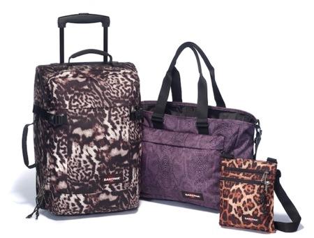 Las mochilas EASTPAK invaden la ciudad con su estampado de print animal