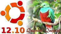 Ubuntu 12.10 se llama Quantal Quetzal