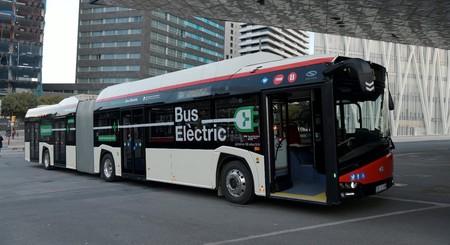 Autobus Electrico Tmb