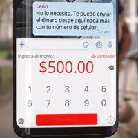 """Santander se convierte en el primer banco de México que permitirá el """"envío de dinero por WhatsApp"""""""