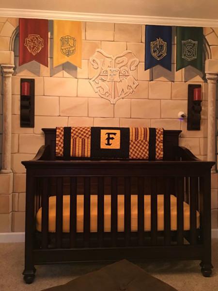 Harry Potter Themed Nursery Kaycee Casey Daniel E2 80 8e 5