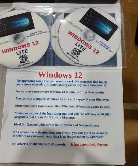 Dvds De Windows 12
