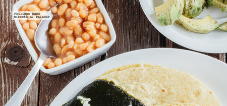 Enchiladas de mole poblano. Receta de aprovechamiento