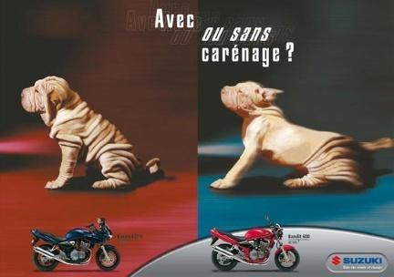 Publicidad francesa de Suzuki