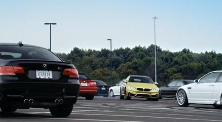 El BMW M4 Coupé se mueve rápido entre sus antepasados