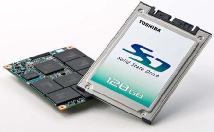 SSD de 128 GB de Toshiba