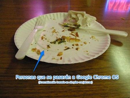 Google Chrome OS: Lo siento chicos, pero no queda pastel para todos