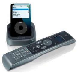 Philips SJM3151, mando universal para iPod