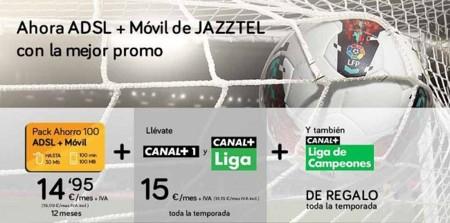 Jazztel renueva su oferta televisiva con el fútbol como eje principal de su apuesta