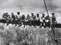 Charles Clyde Ebbets y su almuerzo desde el cielo de Nueva York, una de las fotografías más icónicas de la historia