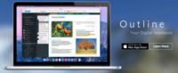 Outline es una aplicación muy interesante para tomar notas en tu Mac