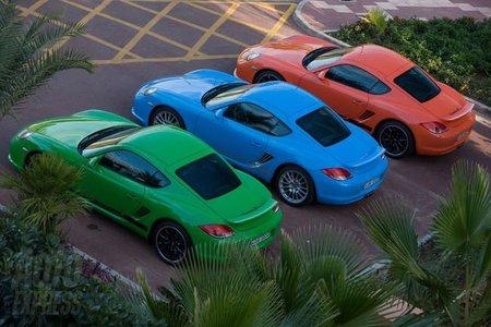 Porsche Cayman Clubsport 4
