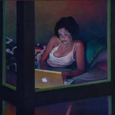 Nigel Van Wieck, el Hopper del siglo XXI que captura la soledad del individuo cuando más conectados estamos