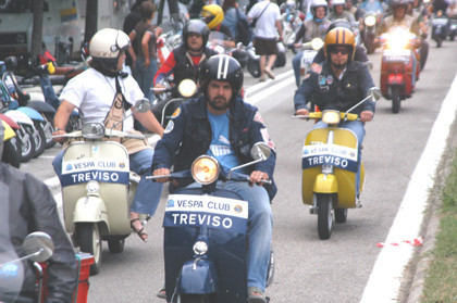Los Vespa World Days, en Sicilia del 24 al 27 de abril