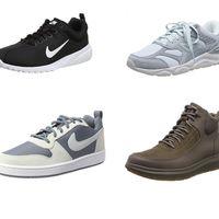 Chollos en tallas sueltas de zapatillas y botas New Balance, Clarks o Nike por 35 euros o menos en Amazon