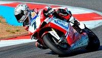 Superbikes Portugal 2011: entretenida primera carrera con victoria de Carlos Checa