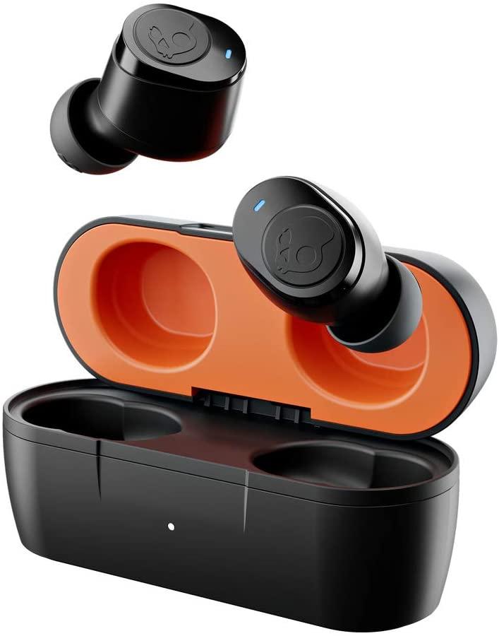 Skullcandy Jib True - Audífonos in-ear inalámbricos - Color negro y naranja
