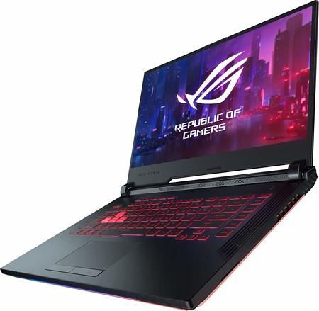 Para jugar al mejor precio: portátil ASUS ROG Strix con i7-9750H, 16 GB RAM, SSD de 256 GB y GTX1660Ti por 1.150 euros en Amazon