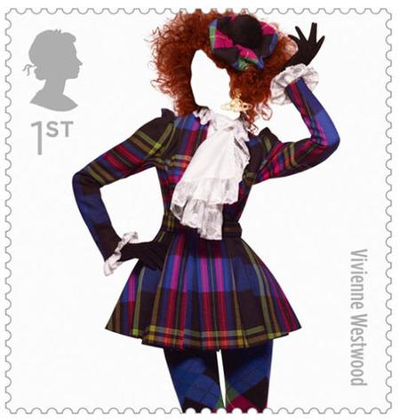 La moda inglesa en diez sellos de colección