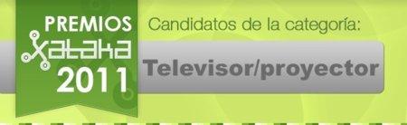 Mejor televisor/proyector de 2011: vota por tu favorito