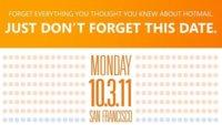 Microsoft presentará un nuevo Hotmail el 3 de octubre en San Francisco