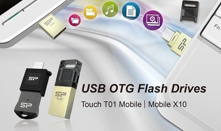 Silicon Power anuncia línea de memorias USB OTG Series de doble acceso