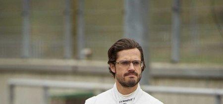 ¿Se puede tener estilo con un mono de carreras? Solo si eres el príncipe Carlos Felipe de Suecia