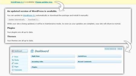 Wordpress 3.1 ya está listo para descargar