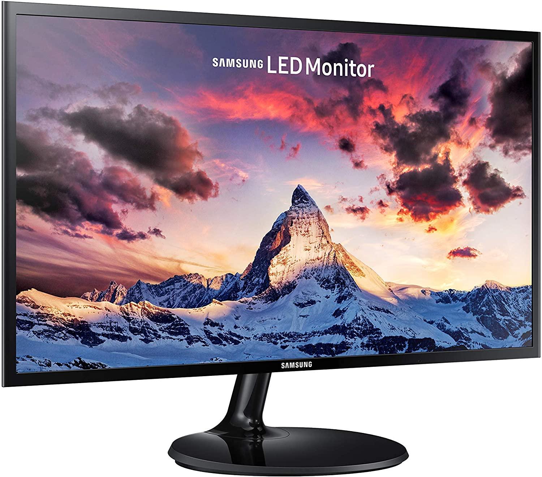 """Samsung S24F354 - Monitor de 24"""" Full HD (1920x1080, 4 ms, 60 Hz, LED, 16:9, 1000:1, 250 cd/m², 178°, HDMI, VGA, Base Redonda) Negro"""