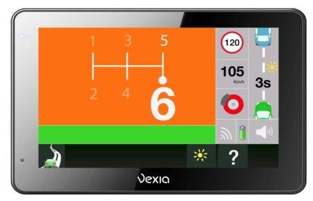 Vexia Econav también avisa de la distancia de seguridad a respetar