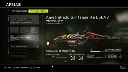 Ametralladora L56A3