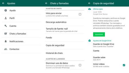 Cómo pasar todos tus mensajes o chats de WhatsApp de un móvil a otro