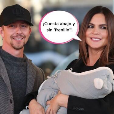 """El bebé de Romina Belluscio y Guti, operado con solo 5 meses por un problema """"difícil de detectar"""""""