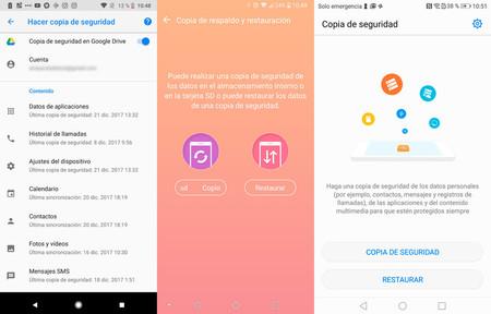 Copias Seguridad Android